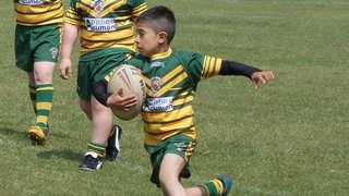 Skegness tour u10's in action May 2013