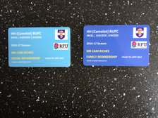 Camelot Membership Cards - Coming Soon!