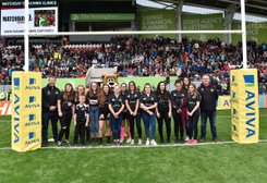 Harborough Girls enjoy a day at Leicester Tigers
