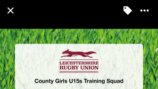 Leicestershire U15s Girls squad announced