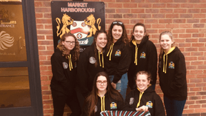 Local business sponsors girls' rugby tour