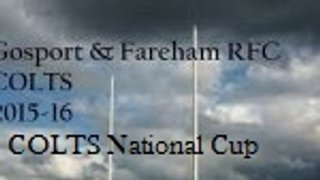 Havant RFC (AWAY) - COLTS National Cup: Round 1