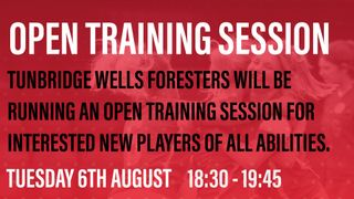 Tunbridge Wells Foresters Ladies teams - PLAYERS WANTED (all levels)