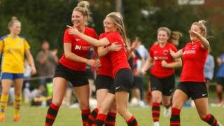 Ladies XI Triumph in  SSE Women's FA Cup.