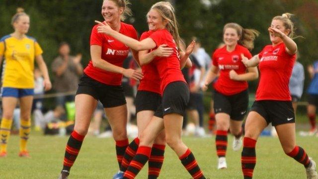 Ladies XI Triumph in  SEE Women's FA Cup.