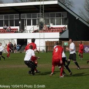 Molesey 2-0 Bedfont FC