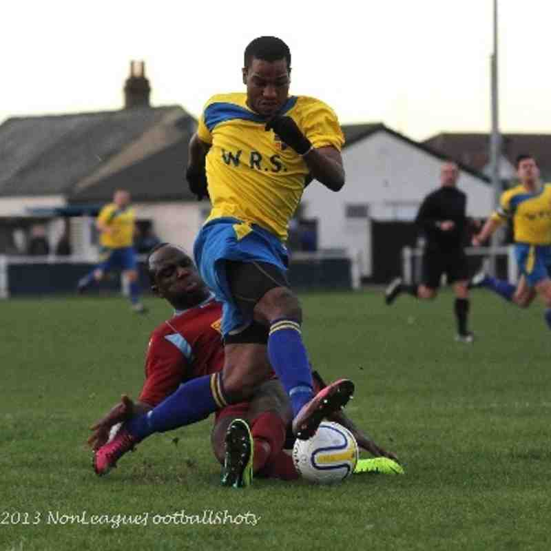 Bedfont & Feltham V AFC Croydon Athletic 071213 Jsg