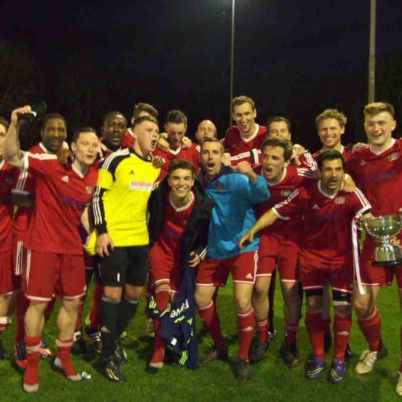 Open Trophy Final: Heys Reserves 3 Rochdale Sacred Heart 3 (Heys win 5-4 on pens)