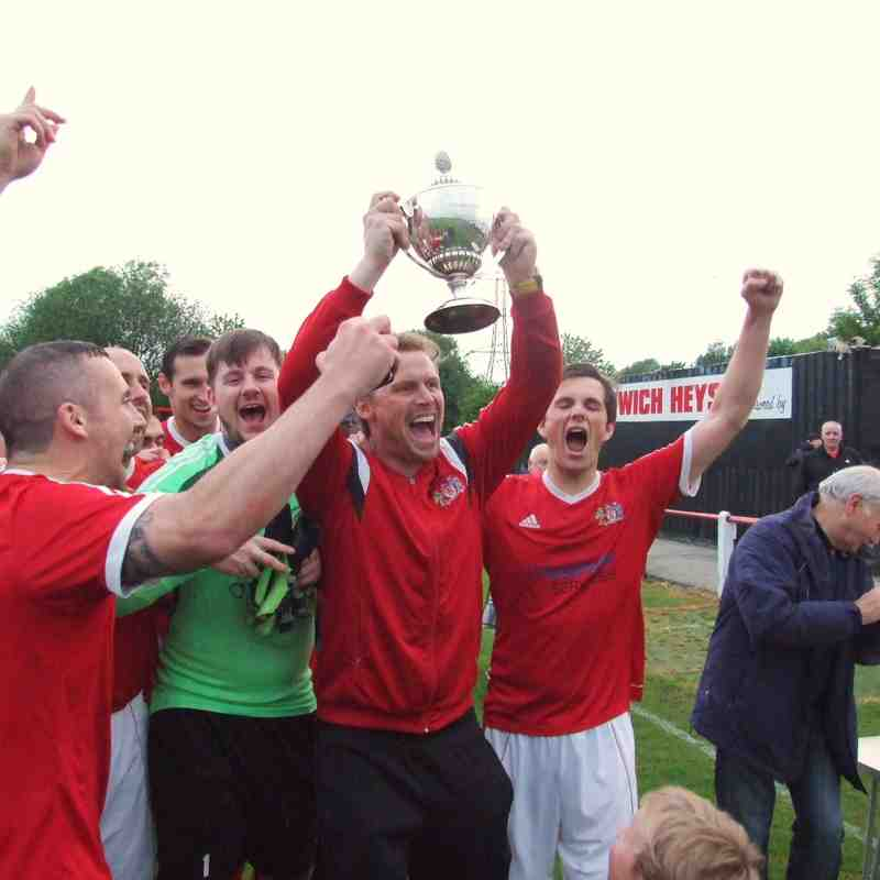 Champions: Heys Reserves 10 Elton Vale Reserves 1 (26-5-16)