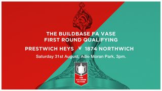 FA Vase Preview: Heys v 1874 Northwich