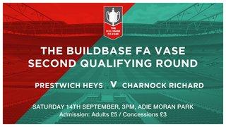 FA Vase : Heys v Charnock Richard