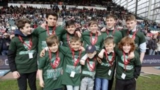 Guard of Honour at Leicester Tigers