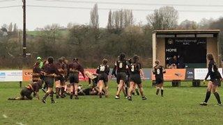 Girls U18s Midlands Plate Final v Ampthill