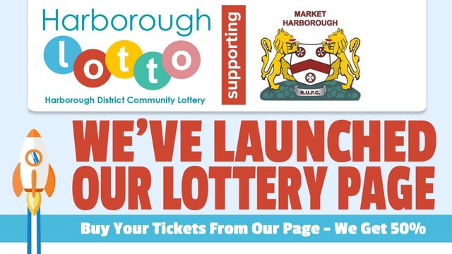 Have you signed up to the Harborough Lotto yet?