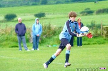 Josh Clarkson U15s Silsden Reds Goalkeeper