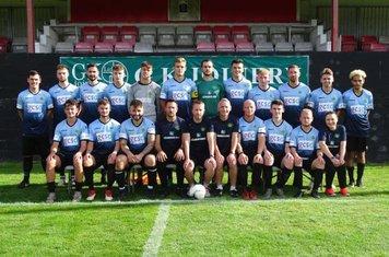 Shortwood Utd Away kit sponsored by GCSD
