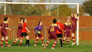 ARNOLD TOWN LADIES 2 EASTWOOD LADIES 3