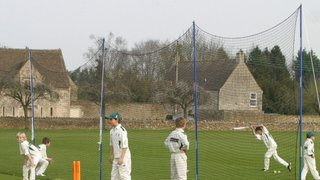 Junior Player wins £300 cricket practice net for club