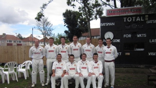 1st XI Humbled on Sticky Wicket