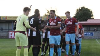 AFC Emley 4-4 Selby Town