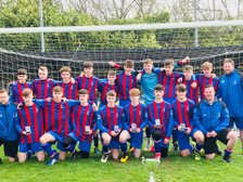 Under 16's Win League Cup