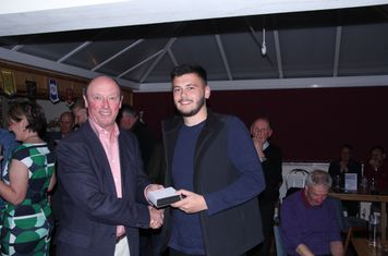 Huddersfield Uni Non League Society Player of the Year George Clarke