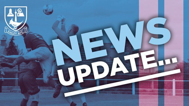 Update from Emley AFC