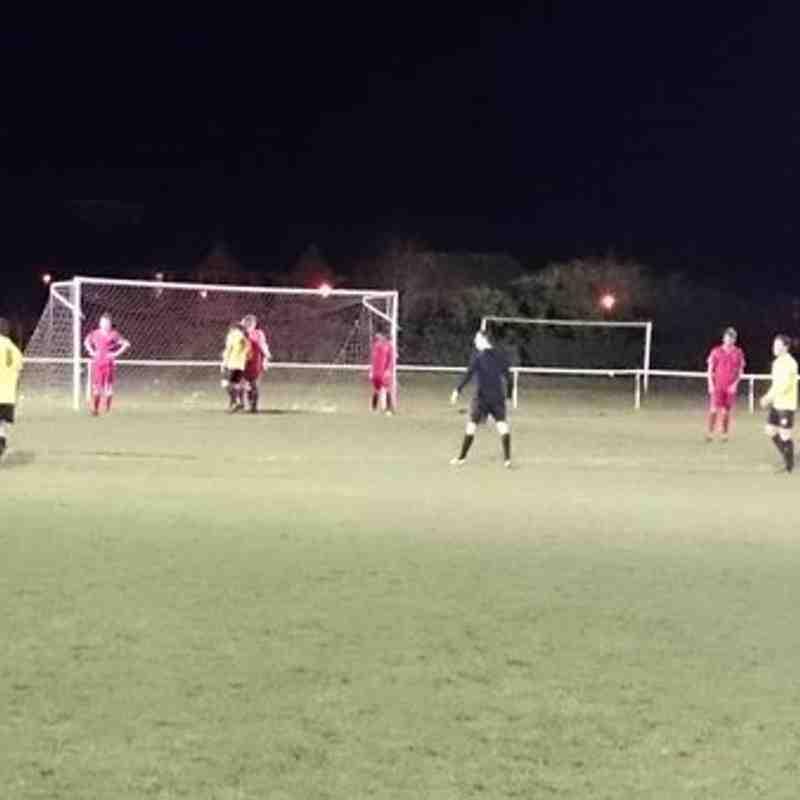 Southend Manor 3 Burnham Ramblers 0 - ESL (16/02/2016)