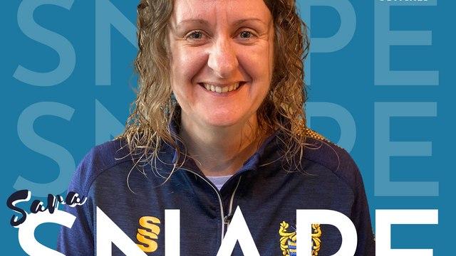 Coaches Spotlight #2 - Sara Snape