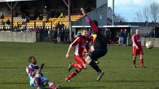 Emley 4-0 Askern Villa (16/03/13)