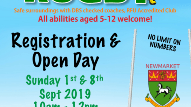 Minis Registration in 01-Sep and 08-Sep