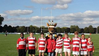 U10s enjoy afternoon as guests of Nottingham Rugby