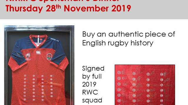 Buy a piece of English rugby history
