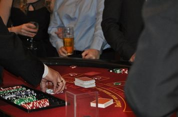 Action on the blackjack table
