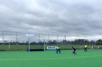 Kailum Mistry is off his line quickly for the 1-on-1