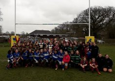 U13 Girls Festival at Datchworth RFC