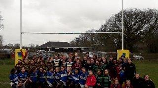 U13 Girls Festival at Datchworth RFC