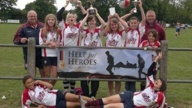 Evesham Ladies Touch Rugby
