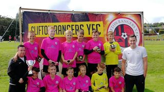 U12 Whites Bow Out of the Cup