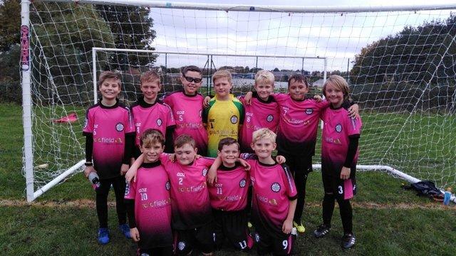 Under 11 Pinks shine in New Kit