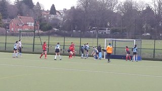 Stellar performance from 2nds as hat-trick from Matthews secures Derby Double over Weston
