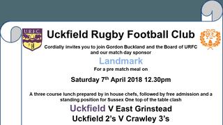 Uckfield V East Grinstead 7th April