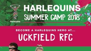 Premiership Club Harlequins to run summer camp at URFC