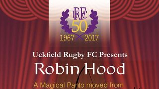 "Panto time Robin Hood ""oh yes it is"""
