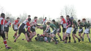 U14s versus Thurrock Sunday 18th