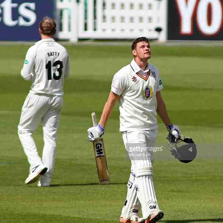 Jack Burnham scores maiden ton for Durham