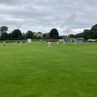 Dylan Conroy scores 87 not out as rain ends Shireshead game prematurely