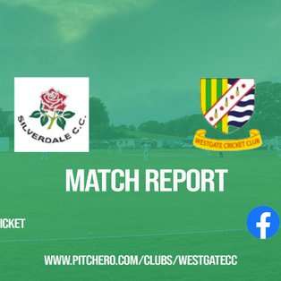 MATCH REPORT: Westgate fall one wicket short of win on opening day at Silverdale