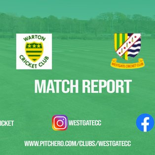 MATCH REPORT: Westgate pick up emphatic eight-wicket win away at Warton