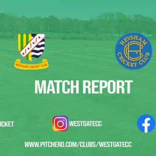 Westgate suffer first defeat of 2021 with four-wicket loss to Heysham